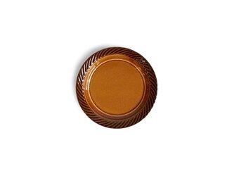 blur 10cmプレート Brownの画像