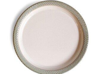 blur 20cmプレート Whiteの画像