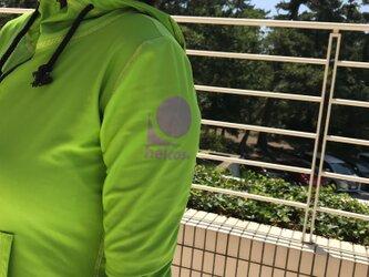 癒本舗 ヒルコス 本当に 紫外線 を考えた ラッシュガード [XLサイズ ライト グリーン 黄 緑] 作家さんの肌を守りたい!の画像