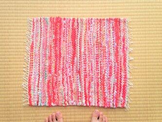 裂き織りマットDの画像