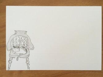 絵葉書/ポストカード <椅子>の画像