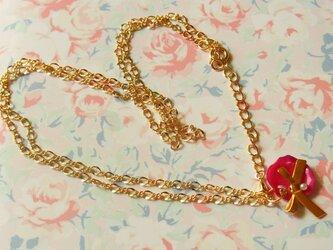 Rose Petal*薔薇の花びらネックレス(D Pink)の画像