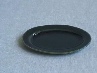 オーバル皿 S 呉州釉の画像