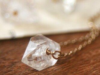 【14kgf】天然石ハーキマーダイアモンド ネックレスの画像