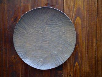 丸皿240薄白 #0178の画像