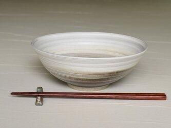 白と黒の鉢 iPw-001の画像