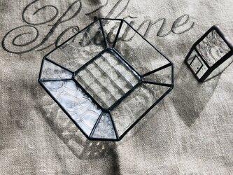 *再販*トレイ・8(正方形・クリア)の画像