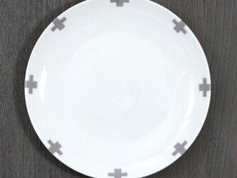 お皿 グレークロス 2枚セット jubileeplatex112の画像