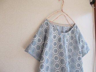 刺繡ラグランプルオーバーの画像