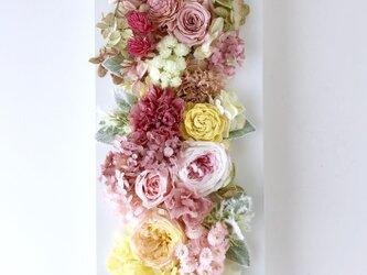 ご結婚お祝いやプレゼントに♡フラワーフレーム Wの画像