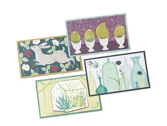 COLOR CARDS BOX ミニカードセット Greenの画像