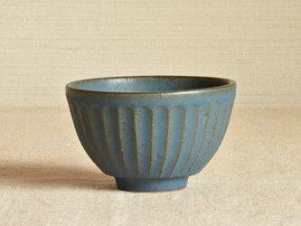 お茶碗 青の画像