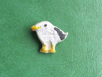 ウミドリのブローチの画像