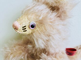 シャトン・コットンピーチ 子猫のぬいぐるみ プレゼント 贈り物 バースデーギフトの画像