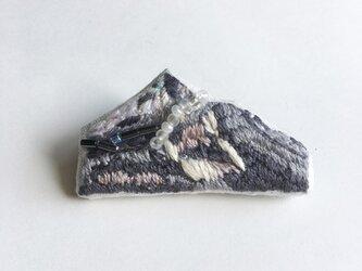 磐梯山ブローチの画像