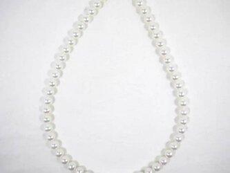 パール ネックレス あこや 8-8.5ミリ 無調色 国産 真珠の画像