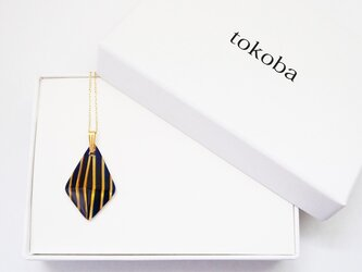 tokoba ピラミッド・ネックレス アンバールリストライプの画像