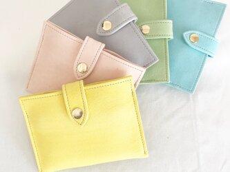 2番目のお財布 淡い黄色の画像