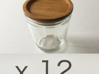 (受注制作)モロゾフのプリンを食べた後にwood cap Fを12sの画像