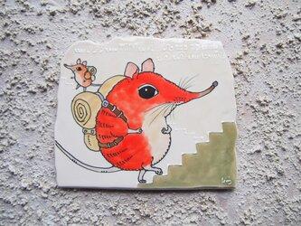 タイルの動物図鑑 ハネジネズミの画像