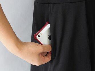 【ポケット1つ】アーミッシュ風シンプルワンピース◇オプションの画像