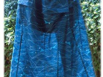 絽のロングスカート(シルクの裏地スカート付き)の画像