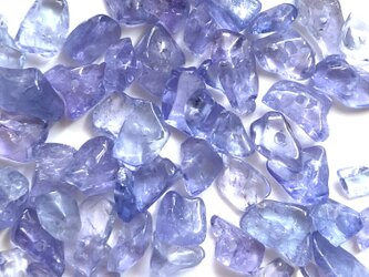 タンザナイト 細石 さざれ 小粒 4g ブルーゾイサイトの画像