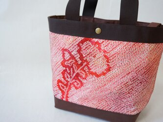 新作 ジャパンビューティーバッグ 絞り&万寿菊の画像