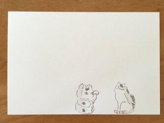 絵葉書/ポストカード <招き猫>の画像