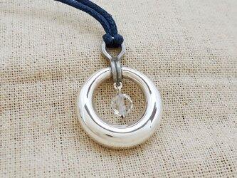 鈴『月甲に水晶』銀製(シルバー925)の画像