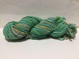 【手紡ぎ糸(スピンドル)の販売です✨】  メリノウール 93gの画像