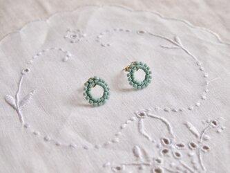 タティングレース cercle (セルクル)  pastel blue  受注制作の画像