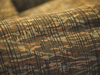 tme0015 古布・古裂 メリンス長襦袢地 朱 未使用☆/和服・着物・襦袢・帯・和小物の画像