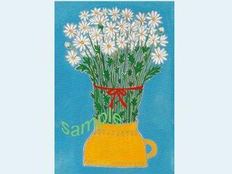 [A¥480] ポストカード¥3枚set :019番 「マーガレット」の画像