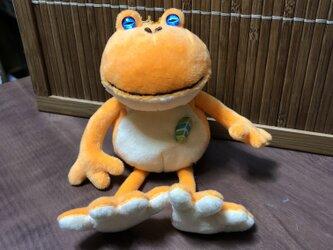 カエルの王様見習いオレンジの画像