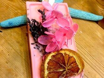優雅で深いフローラルの香り Lovely Heart アロマワックスバーの画像