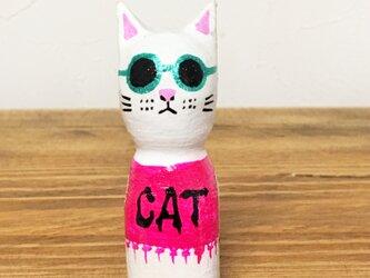 木彫りの猫 フェスに行こう!の画像