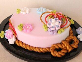 大人可愛い❤和風クレイケーキの画像