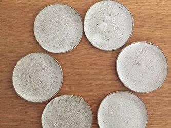 薄い豆皿(紐無し)の画像