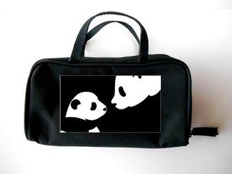 ハンドルポーチ(パンダ)の画像