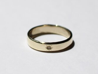 Bloom ring / K10 YG. PG. WG.の画像