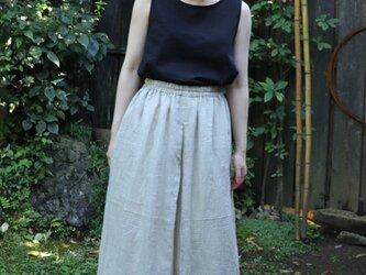 小千谷縮のリメイクスカートの画像