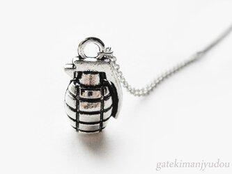 手榴弾のネックレス【長さ変更可】の画像