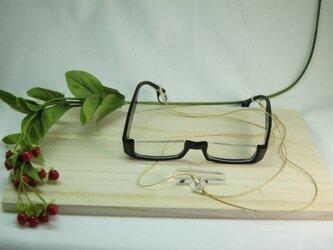 水晶猫眼鏡ホルダー/水晶入の画像