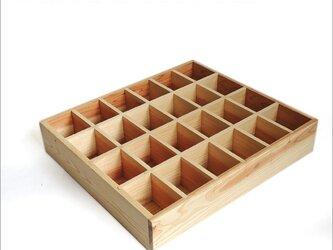 コレクションウッドボックス 木箱  アンティーク 収納 スパイスボックス コレクションケース 陳列 ケース 食品ケースの画像
