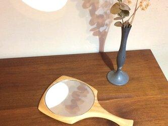 手鏡 <ニレの木>の画像