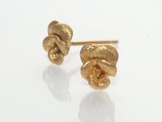 ビオラピアス(gold)の画像