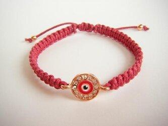 evil eye charm braceletの画像