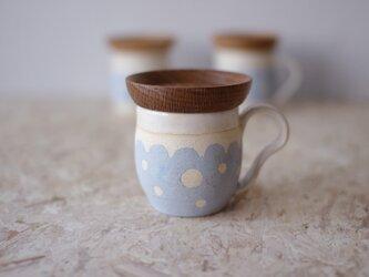 マグカップ / 木の蓋付き No.25の画像