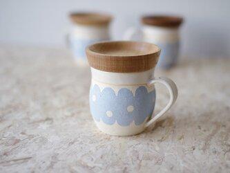 マグカップ / 木の蓋付き No.26の画像